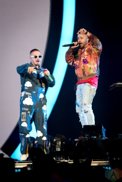 TORONTO, ON - SEPTEMBER 21: J Balvin performs at Scotiabank Arena in Toronto on September 21, 2019. (Photo: Jaime Espinoza/Aesthetic Magazine)