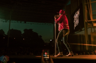 TORONTO, ON - SEPTEMBER 21: Jimmie Allen performs at Budweiser Stage in Toronto on September 21, 2019. (Photo: Ryley Dawson/Aesthetic Magazine)