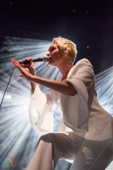 WASHINGTON, DC - SEPTEMBER 29: July Talk performs at The Anthem in Washington, DC on September 29, 2019. (Photo: Lauren Fuchs/Aesthetic Magazine)