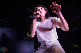 TORONTO, ON - SEPTEMBER 22: K.Flay performs at Phoenix Concert Theatre in Toronto on September 22, 2019. (Photo: Tyler Roberts/Aesthetic Magazine)