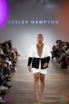 TORONTO, ON - SEPTEMBER 05: Lesley Hampton runaway show at Toronto Fashion Week on September 05, 2019. (Photo: Brendan Albert/Aesthetic Magazine)