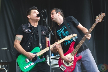 CHICAGO, IL - SEPT. 15 - Less Than Jake performs at Riot Fest in Chicago on September 15, 2019. (Photo: Katie Kuropas/Aesthetic Magazine)