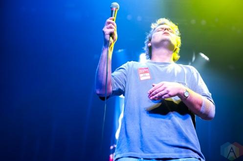 NEW YORK, NY - SEPTEMBER 19: Mac DeMarco performs at Brooklyn Steel in New York on September 19, 2019. (Photo: Emily Korn/Aesthetic Magazine)