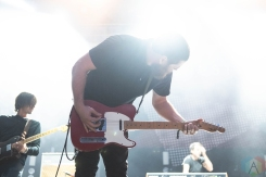 CHICAGO, IL - SEPT. 14 - Manchester Orchestra performs at Riot Fest in Chicago on September 14, 2019. (Photo: Katie Kuropas/Aesthetic Magazine)