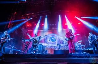TORONTO, ON - SEPT. 11: Of Monsters And Men performs at Budweiser Stage in Toronto on September 11, 2019. (Photo: Tyler Roberts/Aesthetic Magazine)