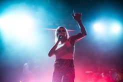 TORONTO, ON - AUGUST 30 - Phantogram performs at Danforth Music Hall in Toronto on August 30, 2019. (Photo: Joanna Glezakos/Aesthetic Magazine)
