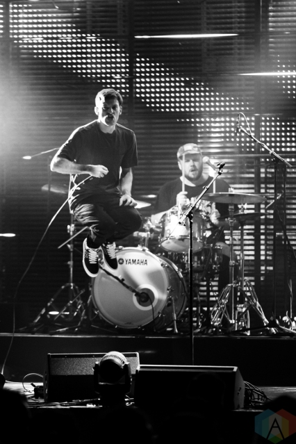 TORONTO, ON - SEPTEMBER 16: PUP performs at the Polaris Music Prize gala at The Carlu in Toronto on September 16, 2019. (Photo: Brendan Albert/Aesthetic Magazine)