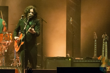 CHICAGO, IL - SEPT. 15 - The Raconteurs performs at Riot Fest in Chicago on September 15, 2019. (Photo: Katie Kuropas/Aesthetic Magazine)