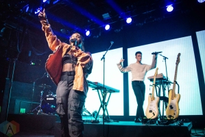 NEW YORK, NY - SEPTEMBER 06: SG Lewis performs at Brooklyn Steel in New York City on September 06, 2019. (Photo: Alx Bear/Aesthetic Magazine)