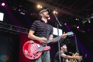 CHICAGO, IL - SEPT. 15 - Streetlight Manifesto performs at Riot Fest in Chicago on September 15, 2019. (Photo: Katie Kuropas/Aesthetic Magazine)