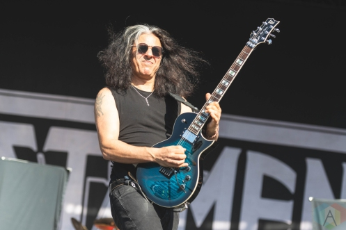 CHICAGO, IL - SEPT. 14 - Testament performs at Riot Fest in Chicago on September 14, 2019. (Photo: Katie Kuropas/Aesthetic Magazine)