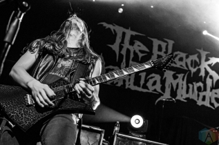 VENTURA, CA - SEPT. 11 - The Black Dahlia Murder performs at Ventura Theater in Ventura, California on September 11, 2019. (Photo: Kelli Binnings/Aesthetic Magazine)