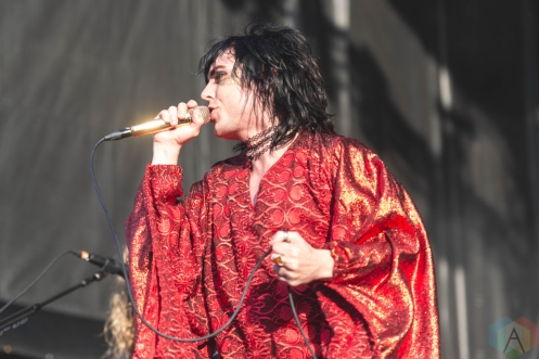 CHICAGO, IL - SEPT. 14 - The Struts performs at Riot Fest in Chicago on September 14, 2019. (Photo: Katie Kuropas/Aesthetic Magazine)