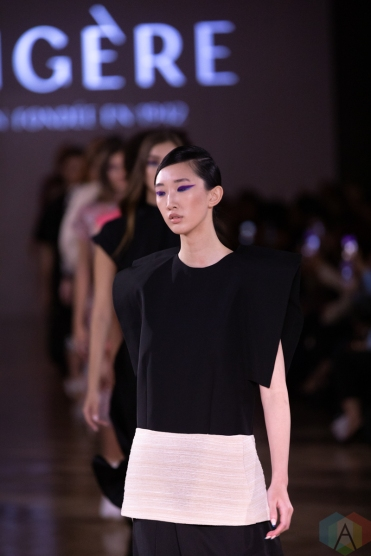 TORONTO, ON - SEPTEMBER 05: Trigere runaway show at Toronto Fashion Week on September 05, 2019. (Photo: Brendan Albert/Aesthetic Magazine)