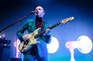 TORONTO, ON - SEPTEMBER 18: Two Door Cinema Club performs at Danforth Music Hall in Toronto on September 18, 2019. (Photo: David McDonald/Aesthetic Magazine)