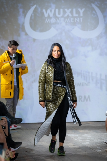 TORONTO, ON - SEPTEMBER 03: WUXLY runaway show at Toronto Fashion Week on September 03, 2019. (Photo: Brendan Albert/Aesthetic Magazine)