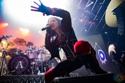 TORONTO, ON - OCTOBER 09: Arch Enemy performs at Rebel in Toronto on October 09, 2019. (Photo: Tyler Roberts/Aesthetic Magazine)