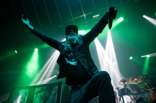 TORONTO, ON - OCTOBER 09: At The Gates performs at Rebel in Toronto on October 09, 2019. (Photo: Tyler Roberts/Aesthetic Magazine)