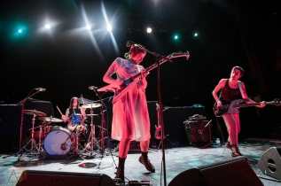 TORONTO, ON - OCTOBER 15: Dilly Dally performs at Danforth Music Hall in Toronto on October 15, 2019. (Photo: Tyler Roberts/Aesthetic Magazine)