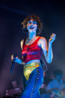 TORONTO, ON - OCTOBER 28: King Princess performs at Rebel in Toronto on October 28, 2019. (Photo: Joanna Glezakos/Aesthetic Magazine)