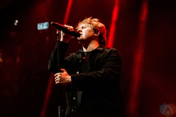 TORONTO, ON - OCTOBER 06: Lewis Capaldi performs at Rebel in Toronto on October 06, 2019. (Photo: Jenna Hum/Aesthetic Magazine)