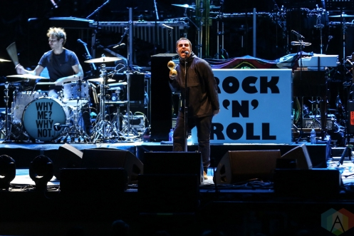 LOS ANGELES, CA - OCTOBER 11: Liam Gallagher performs at Hollywood Bowl in Los Angeles on October 11, 2019. (Photo: Melanie Escombe/Aesthetic Magazine)