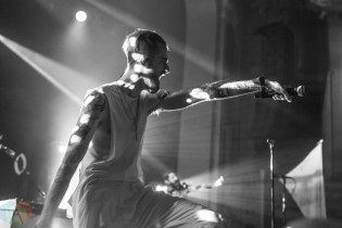 TORONTO, ON - OCTOBER 06: Missio performs at Danforth Music Hall in Toronto on October 06, 2019. (Photo: Joanna Glezakos/Aesthetic Magazine)