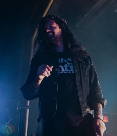 DETROIT, MI - OCTOBER 24: Taking Back Sunday performs at St. Andrew's Hall in Detroit on October 24, 2019. (Photo: Jamie Limbright/Aesthetic Magazine)