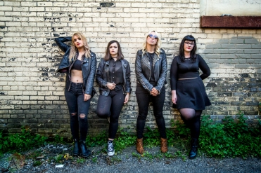 TORONTO, ON: The Anti-Queens pose for a portrait in Toronto, Ontario. (Photo: Katrina Lat/Aesthetic Magazine)