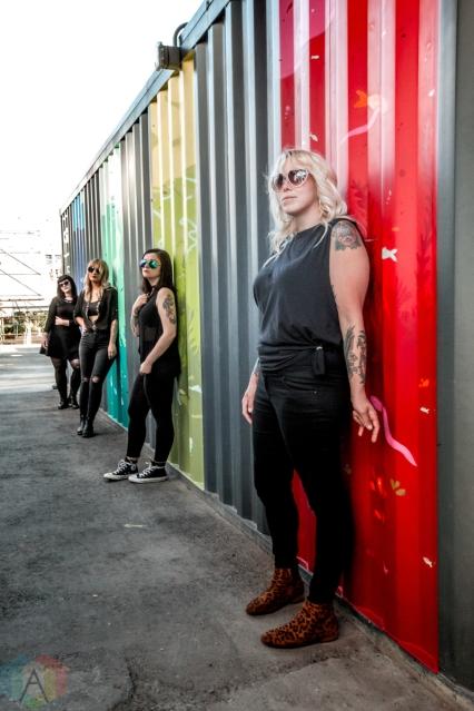 TORONTO, ON: The Anti-Queens pose for a portrait in Toronto, Ontario. (Photo: Katrina Lat/Aesthetic Magazine)