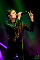 TORONTO, ON - OCTOBER 30 - The Interrupters performs at Rebel in Toronto on October 30, 2019. (Photo: David McDonald/Aesthetic Magazine)