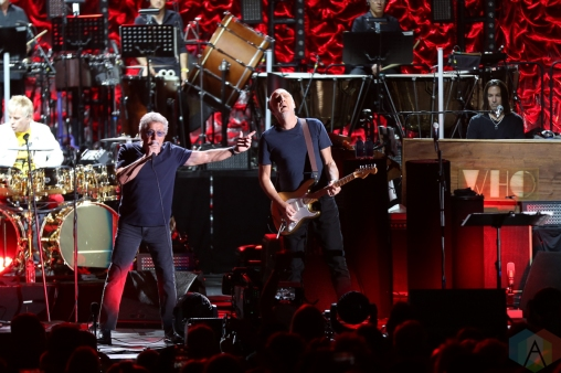 LOS ANGELES, CA - OCTOBER 11: The Who performs at Hollywood Bowl in Los Angeles on October 11, 2019. (Photo: Melanie Escombe/Aesthetic Magazine)