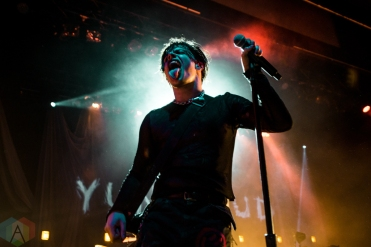 TORONTO, ON - OCTOBER 06: Yungblud performs at Danforth Music Hall in Toronto on October 06, 2019. (Photo: Joanna Glezakos/Aesthetic Magazine)