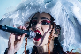 TORONTO, ON - NOVEMBER 17: FKA Twigs performs at Rebel in Toronto on November 17, 2019. (Photo: Morgan Hotston/Aesthetic Magazine)