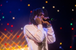 TORONTO, ON - NOVEMBER 13: J.I.D performs at Scotiabank Arena in Toronto on November 13, 2019. (Photo: Brandon Newfield/Aesthetic Magazine