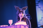 TORONTO, ON - OCTOBER 31: Jenny Lewis performs at Danforth Music Hall in Toronto on October 31, 2019. (Photo: Myles Herod/Aesthetic Magazine)