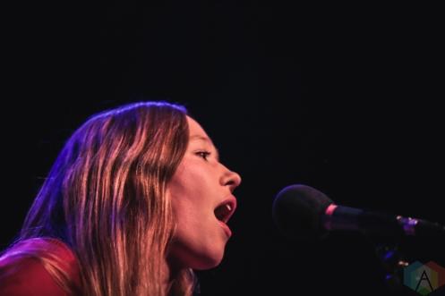 TORONTO, ON - NOVEMBER 12: Julia Jacklin performs at Phoenix Concert Theatre in Toronto on November 12, 2019. (Photo: Myles Herod/Aesthetic Magazine)