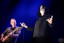 TORONTO, ON - NOVEMBER 11: Killing Joke performs at Scotiabank Arena in Toronto on November 11, 2019. (Photo: David McDonald/Aesthetic Magazine)