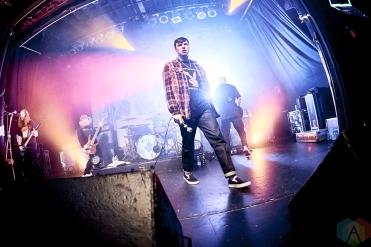 TORONTO, ON - NOVEMBER 06 - Knocked Loose performs at Phoenix Concert Theatre in Toronto on November 06, 2019. (Photo: Morgan Harris/Aesthetic Magazine)