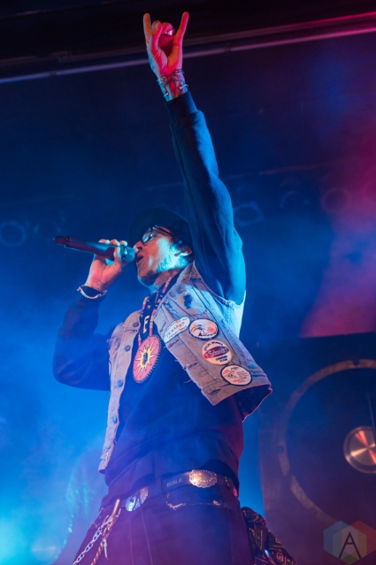 TORONTO, ON - NOVEMBER 07: Yelawolf performs at Phoenix Concert Theatre in Toronto on November 07, 2019. (Photo: Tyler Roberts/Aesthetic Magazine)