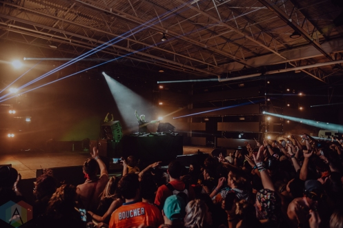 DALLAS, TEXAS: Herobust performs at Lights All Night Festival 2019 in Dallas, Texas. (Photo: Dylan Villarreal/Aesthetic Magazine)