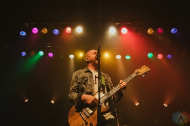 TORONTO, ON - DECEMBER 01: The Menzingers performs at Phoenix Concert Theatre in Toronto on December 01, 2019. (Photo: Lauren Garbutt/Aesthetic Magazine)