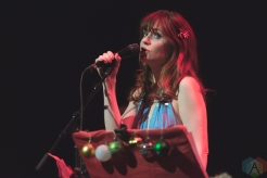 LOS ANGELES, CA - DECEMBER 13 - She & Him performs at The Theatre at Ace Hotel in Los Angeles on December 13, 2019. (Photo: Katie Kuropas/Aesthetic Magazine)