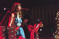 LOS ANGELES, CA - DECEMBER 13 - She And Him performs at The Theatre at Ace Hotel in Los Angeles on December 13, 2019. (Photo: Katie Kuropas/Aesthetic Magazine)