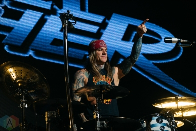 TORONTO, ON - DECEMBER 02: Steel Panther performs at Rebel in Toronto on December 02, 2019. (Photo: David Scala/Aesthetic Magazine)