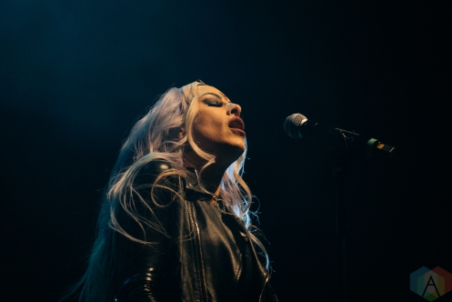 TORONTO, ON - DECEMBER 02: Stitched Up Heart performs at Rebel in Toronto on December 02, 2019. (Photo: David Scala/Aesthetic Magazine)