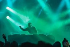 TORONTO, ON - DECEMBER 20 - The Crystal Method performs at The Mod Club in Toronto on December 20, 2019. (Photo: Myles Herod/Aesthetic Magazine)