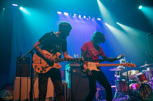 TORONTO, ON - DECEMBER 11 - Tokyo Police Club performs at Danforth Music Hall in Toronto on December 11, 2019. (Photo: Tyler Roberts/Aesthetic Magazine)