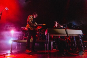 TORONTO, ON - JANUARY 30 - Half Moon Run performs at Danforth Music Hall in Toronto on January 30, 2019. (Photo: Anton Mak/Aesthetic Magazine)