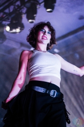 PORTLAND - JANUARY 19 - King Princess performs at the Roseland Theater in Portland on January 19, 2019. (Photo: Diana Thompson/Aesthetic Magazine)